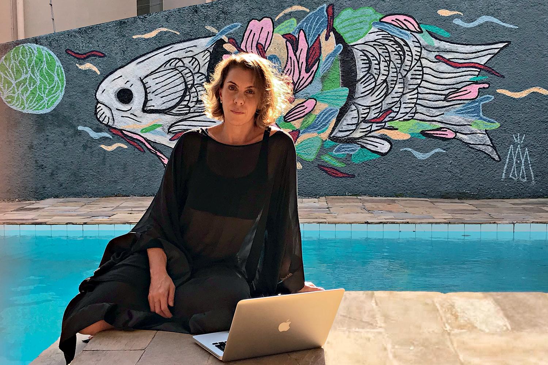 """OFERTA -A artista visual Danielle Preu, de São Paulo: """"O aluguel vem a calhar"""" -"""