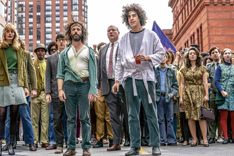 OS 7 DE CHICAGO - Indicações: melhor filme, ator coadjuvante (Sacha Baron Cohen), roteiro original, montagem, fotografia, canção original -