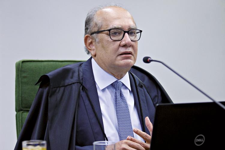 CONTRA-ATAQUE -Mendes: ele ignorou a decisão de Fachin e deu sequência ao julgamento de pedido de suspeição -