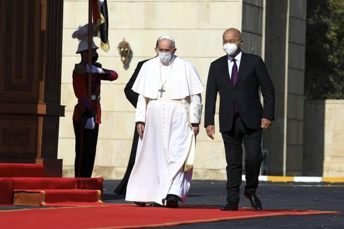 Pope Francis in Baghdad