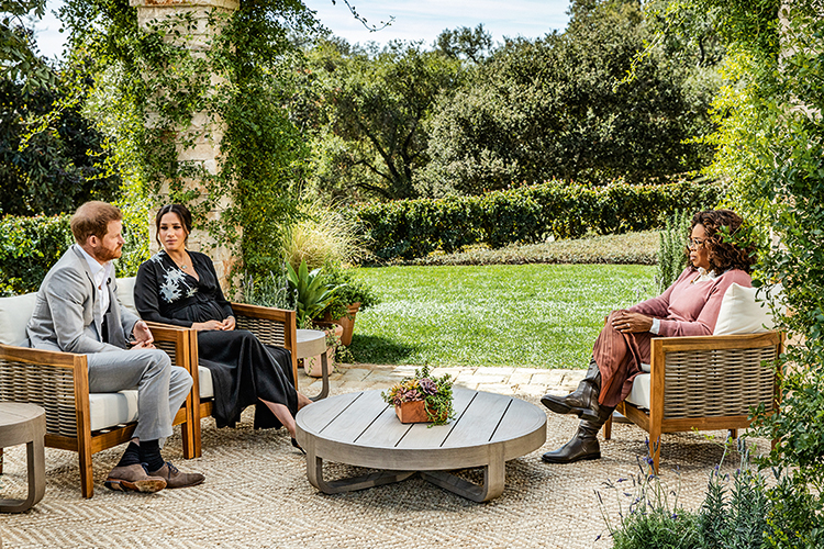 CENÁRIO -Oprah e os duques: perguntas diretas e respostas perturbadoras -