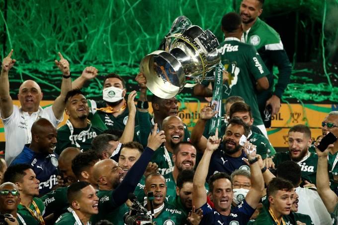 2020 Copa do Brasil Final: Palmeiras v Gremio Play Behind Closed Doors Amidst the Coronavirus (COVID – 19) Pandemic