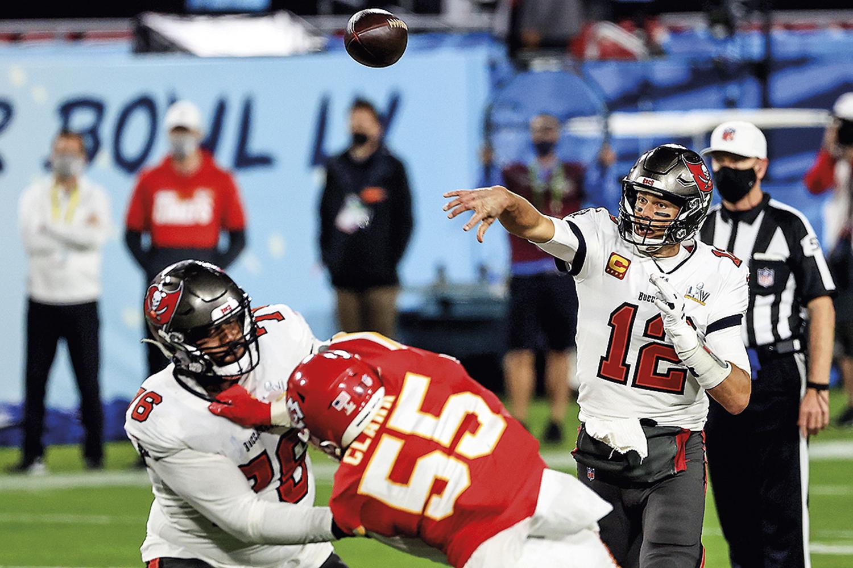 VALORIZADA -Tom Brady, da NFL: a liga do astro será transmitida pela Amazon -