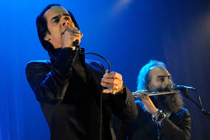 Nick Cave And The Bad Seeds Perform At The Hammersmith Apollo