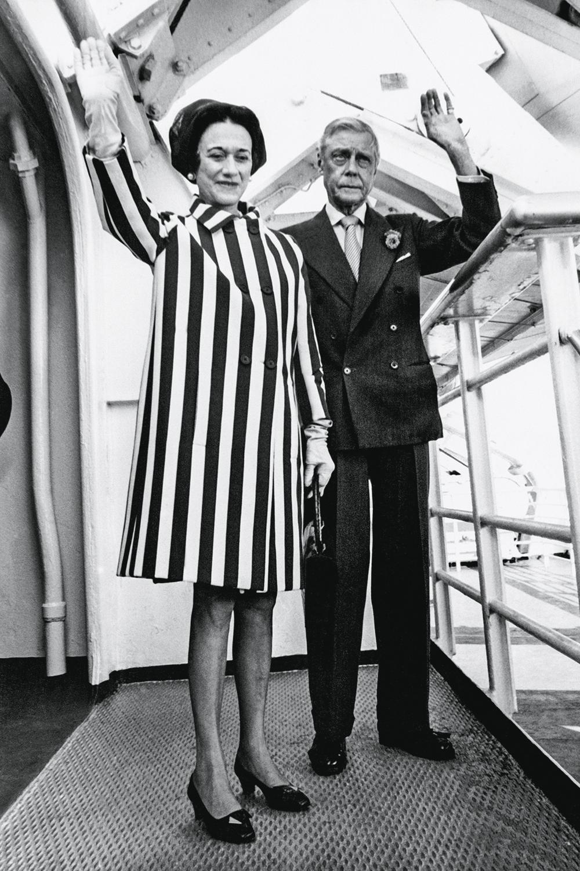 A PRIMEIRA -Os duques de Windsor: ele abdicou do trono britânico para ficar com a americana divorciada -