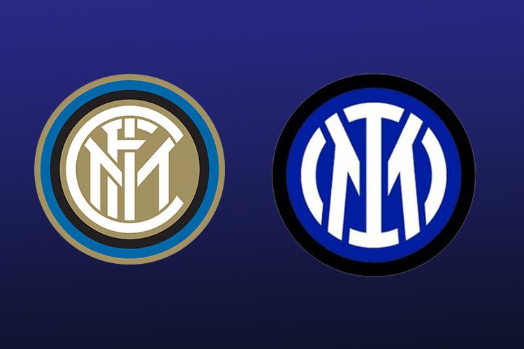 O antes e depois do escudo da Inter de Milão -