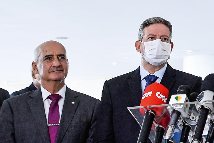 OBJETIVO NÚMERO 1 -Ramos e Lira: a prioridade é manter o apoio do Centrão -