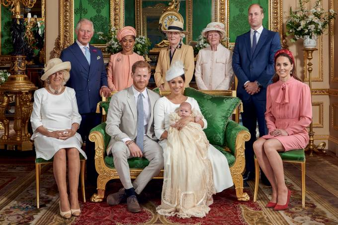 Christening ceremony for baby Archie, son of the Duke and Duchess of Sussex, at Windsor Castle