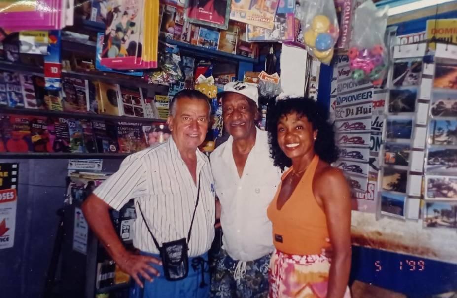 Na banca de jornal no bairro Ocian, na Praia Grande, onde trabalhou fazendo jogos do bicho -