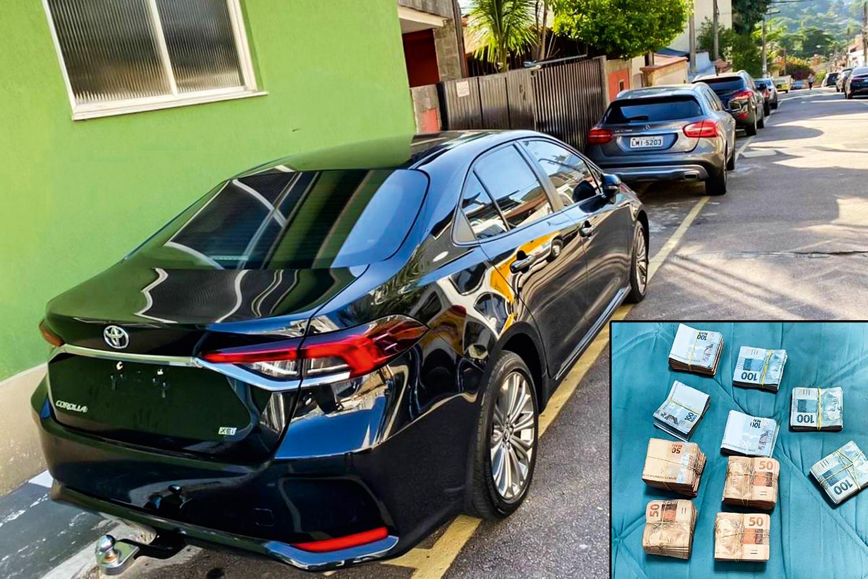 MILÍCIA S/A -Carros e dinheiro: bens apreendidos com a quadrilha -