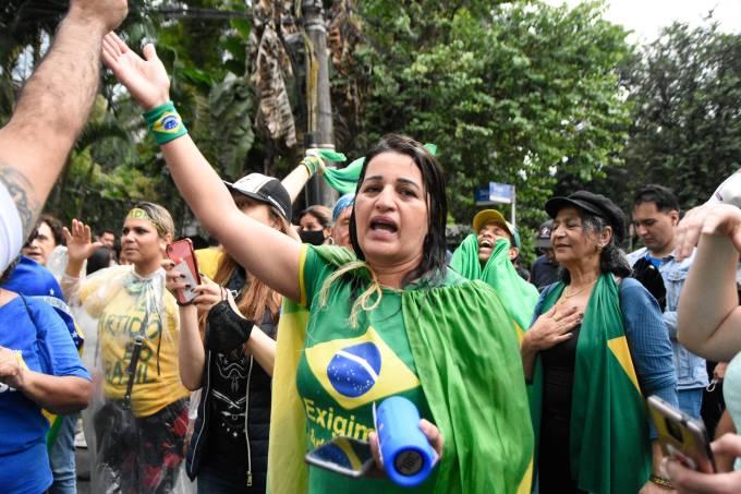 Protesto contra João Doria Proximidades de sua casa