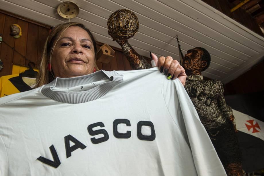 Tereza Borba, filha do ex-goleiro Barbosa -