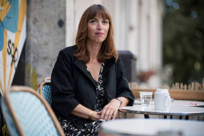 Vanessa Springora's promotes her book Consent in Paris