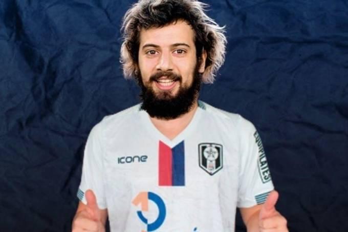 Cartolouco foi relacionado contra o Flamengo, mas nem pro banco foi
