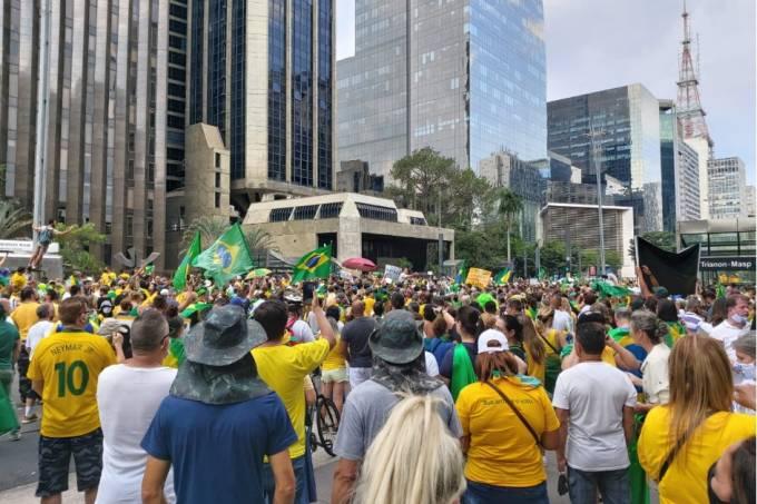 manifestação bolsonaro