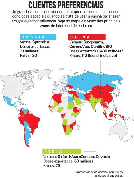 arte mapa vacina