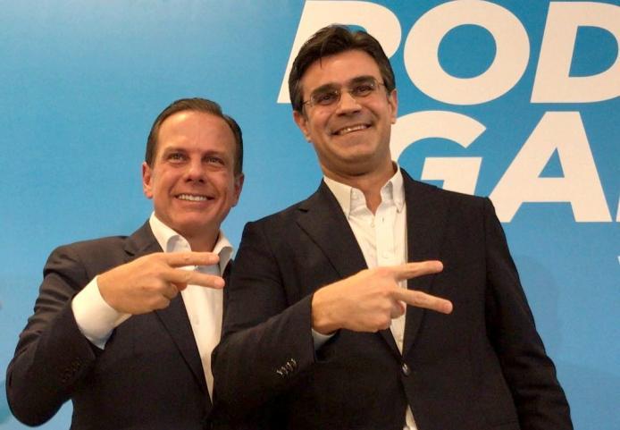 Filiação de Rodrigo Garcia implode relação de Doria com o DEM