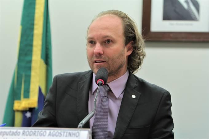 O deputado federal Rodrigo Agostinho (PSB-SP), coordenador da Frente Parlamentar Ambientalista