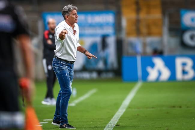 Treinador conquistou sete títulos na última passagem pelo Grêmio -