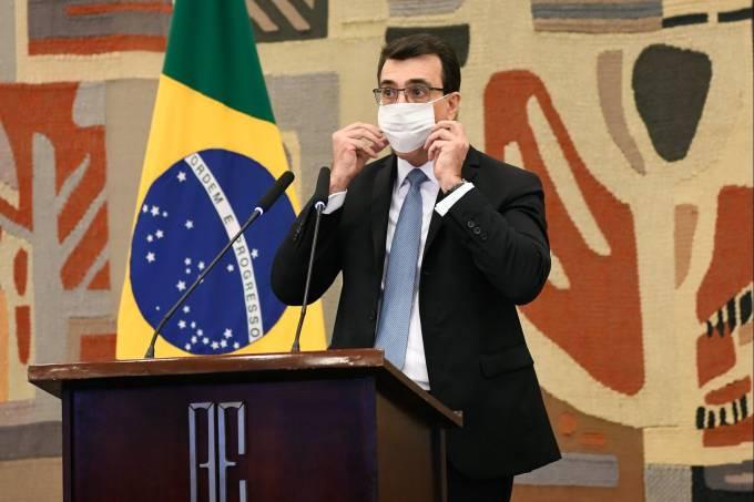 O novo ministro das Relações Exteriores, Carlos Alberto Franco França