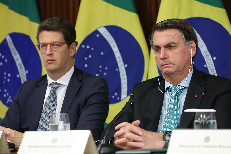 A preocupação de Bolsonaro com Ricardo Salles | VEJA