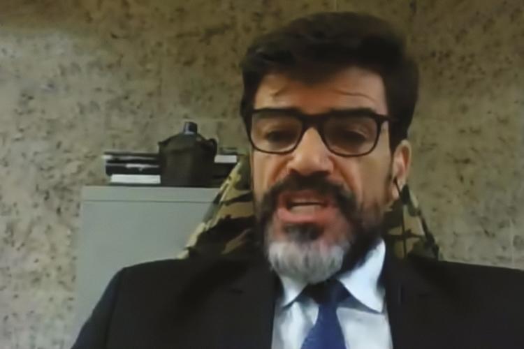 ALVO -O delegado Saraiva: afastado da superintendência após conflito com o ministro -