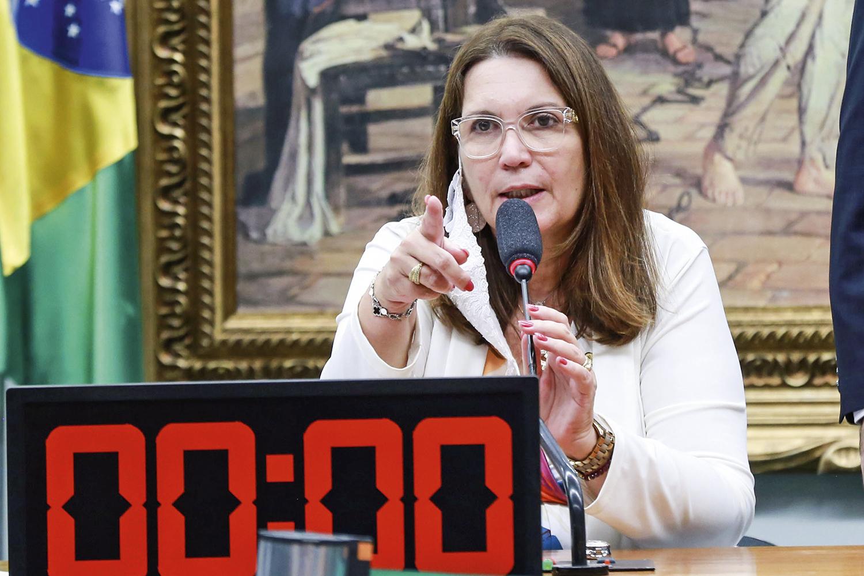 DESPREPARO -Bia Kicis, presa fácil para a oposição: apenas cinco projetos aprovados em um mês de sessões -