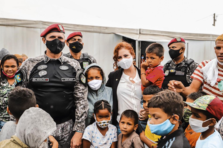 VIAGEM -Carla Zambelli: ela quer apurar crime ambiental na Venezuela -