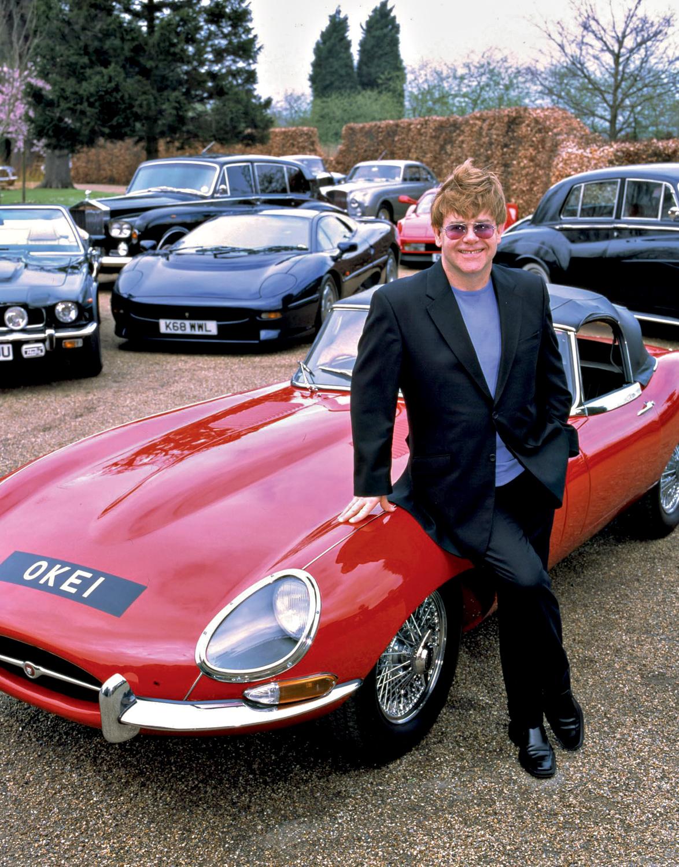 CLÁSSICO -O modelo 1965 de Elton John: levado a leilão com outros carros da coleção do astro do rock -