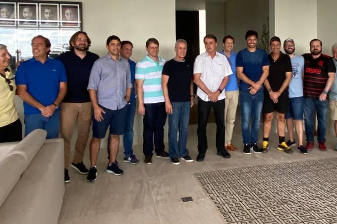 Almoço reúne integrantes do governo Bolsonaro na casa do ministro das Comunicações, Fábio Faria