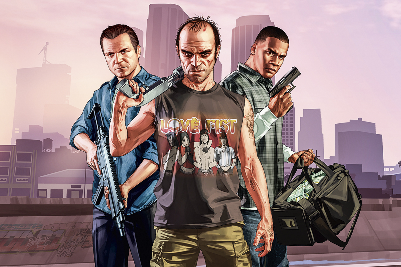 GTA V - ASSALTOS EM SÉRIE - O popular game de ação e aventura: também foi superado por Valheim -
