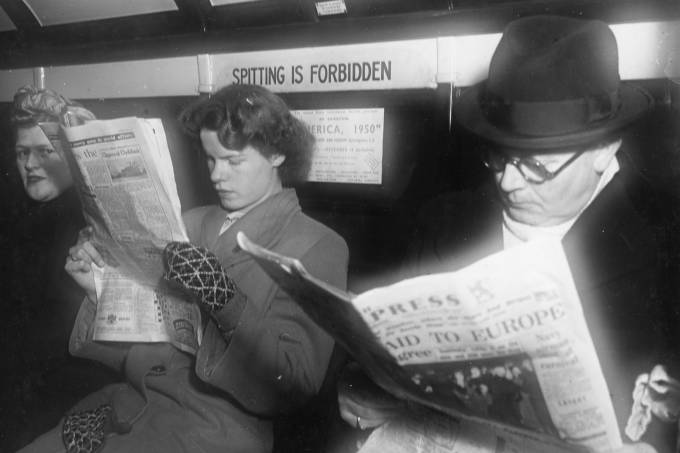'Glasgow Subway Passengers'