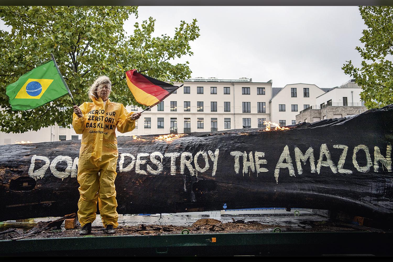PRESSÃO -Manifestação contra o Brasil na Alemanha: ativo da sustentabilidade ambiental nunca esteve tão em alta -