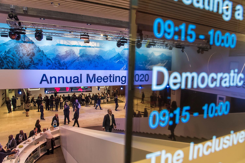 REUNIÃO DO WORLD ECONOMIC FORUM, EM DAVOS -parâmetros adotados em escala global -