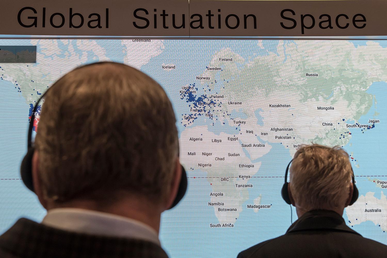 REUNIÃO DO WORLD ECONOMIC FORUM, EM DAVOS