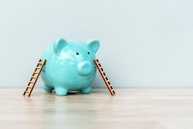 Ladders on Piggy Bank