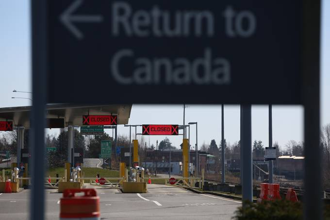 U.S.-Canada border closed to non-essential travel