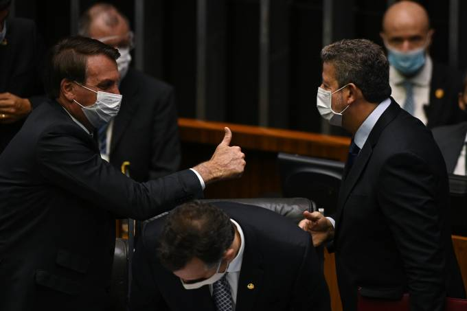 Brazil's President Jair Bolsonaro Attends The Opening Session Of The Legislative Year