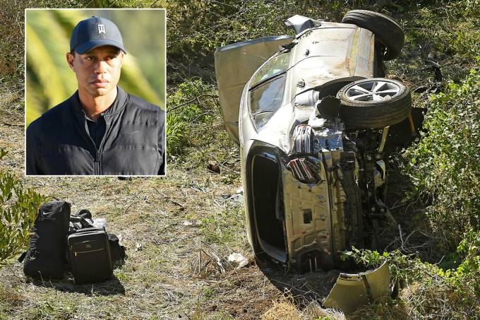 Tiger Woods crash