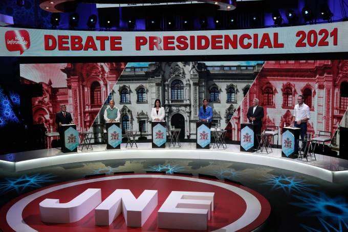 Peru's presidential debate