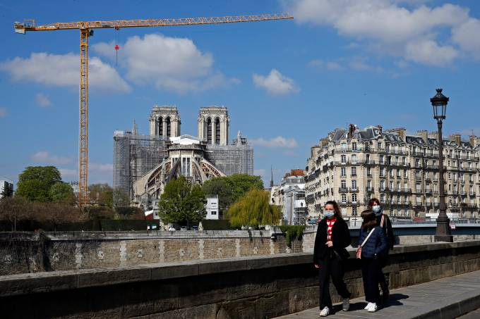 Notre-Dame : Two Years After Being Damaged By The fire On April 15, 2019