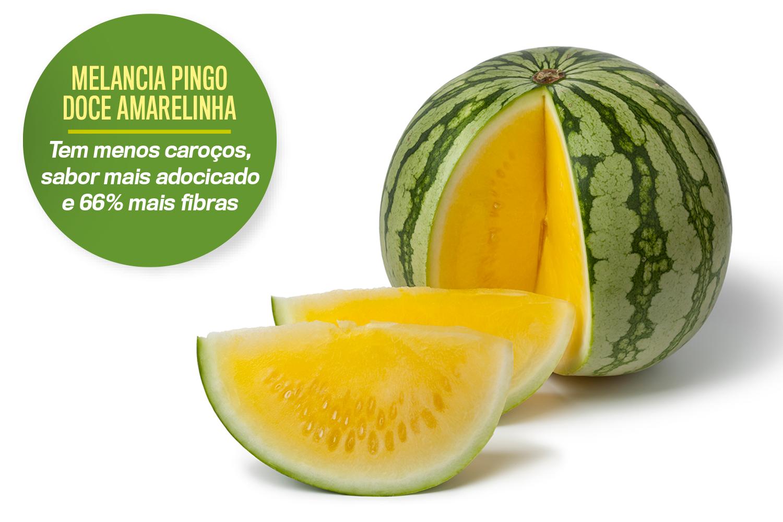 MELANCIA PINGO DOCE AMARELINHA -