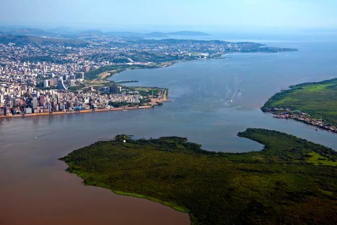 Porto Alegre and Guaíba