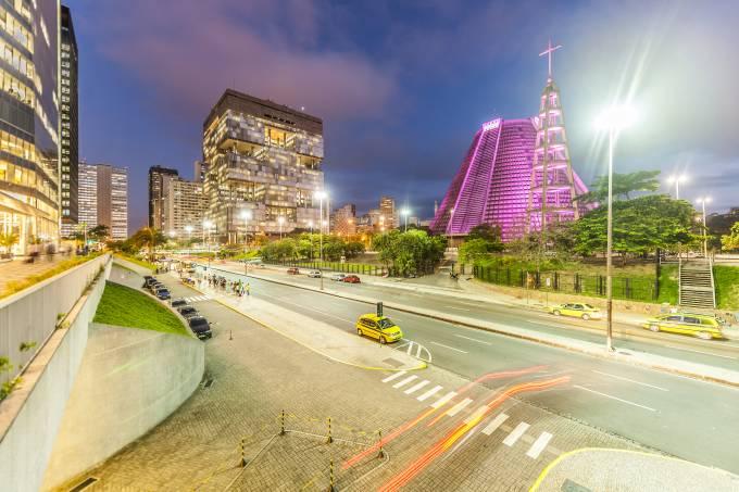 Sao Sebastiao Cathedral and Petrobras Building