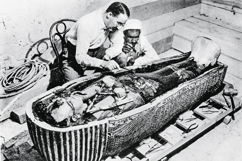 TUTANCÂMON - Howard Carter: o maior achado arqueológico do século XX -