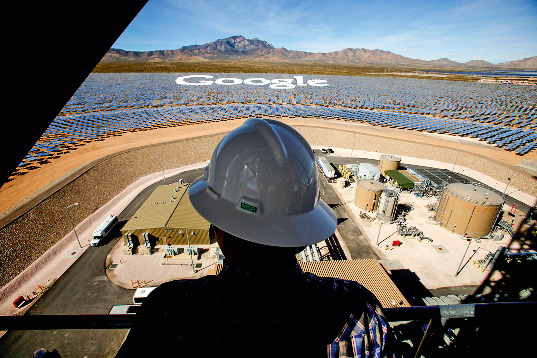 SEM DEMORA -Painéis solares do Google: a empresa já usa só energia limpa para abastecer as salas com computadores -