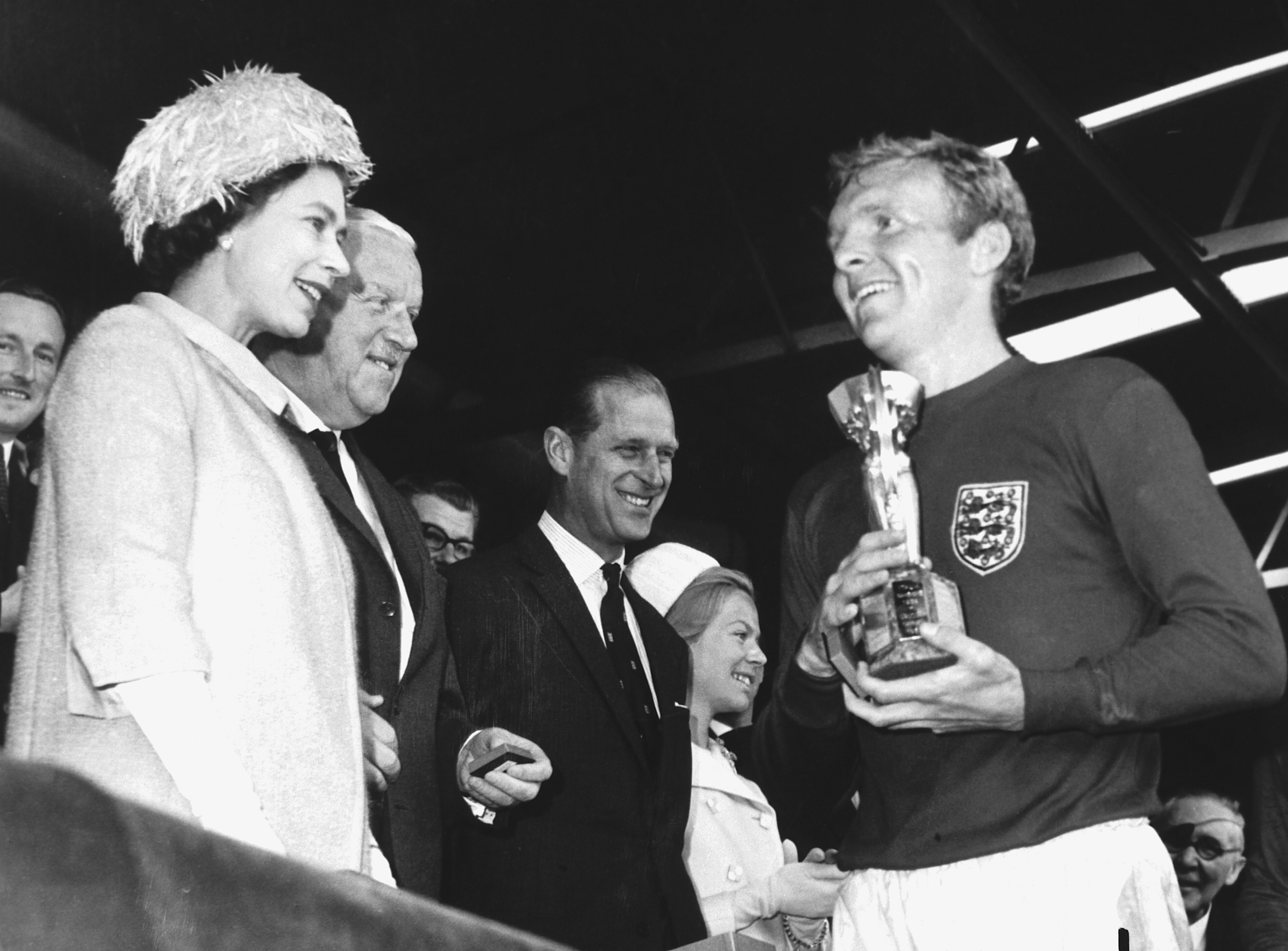 England Win World Cup Soccer Trophy, 1966