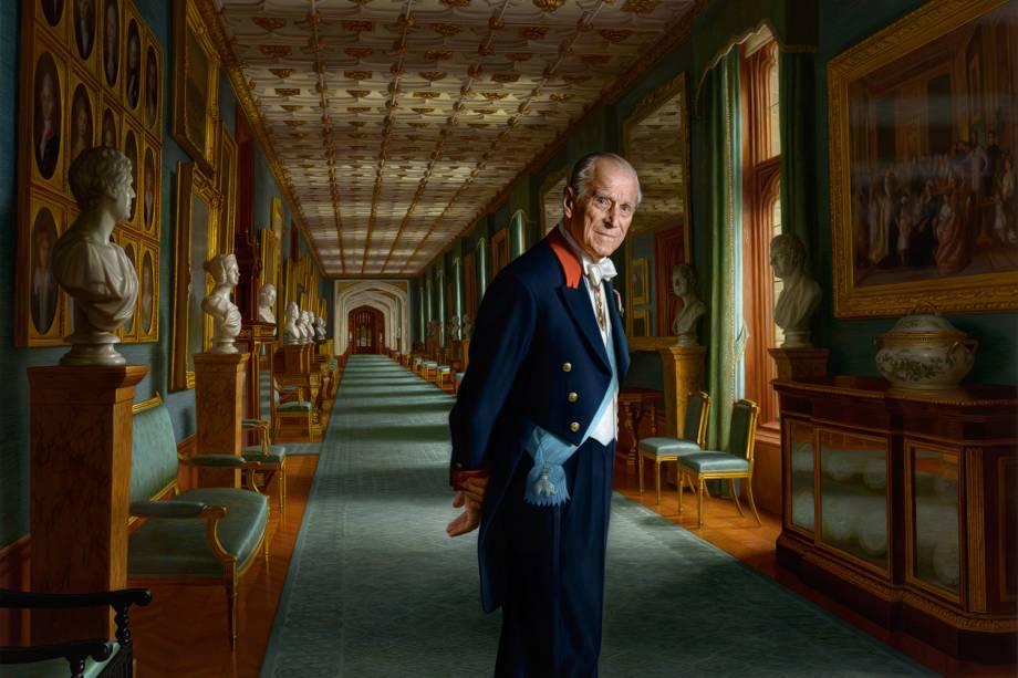 O Príncipe Philip, Duque de Edimburgo -