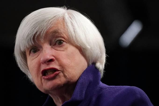 Secretária do Tesouro dos Estados Unidos Janet Yellen –