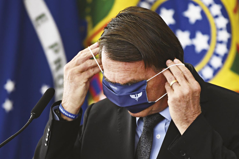 INVESTIGAÇÃO -Jair Bolsonaro: o governo é alvo de uma CPI no Congresso -